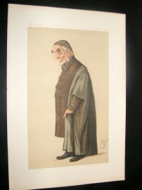 Vanity Fair Print 1875 Rev. Edward B. Pusey, Clergy
